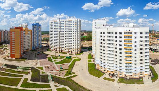 Аэропанорама жилого комплекса